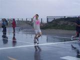 マラソン土砂降り